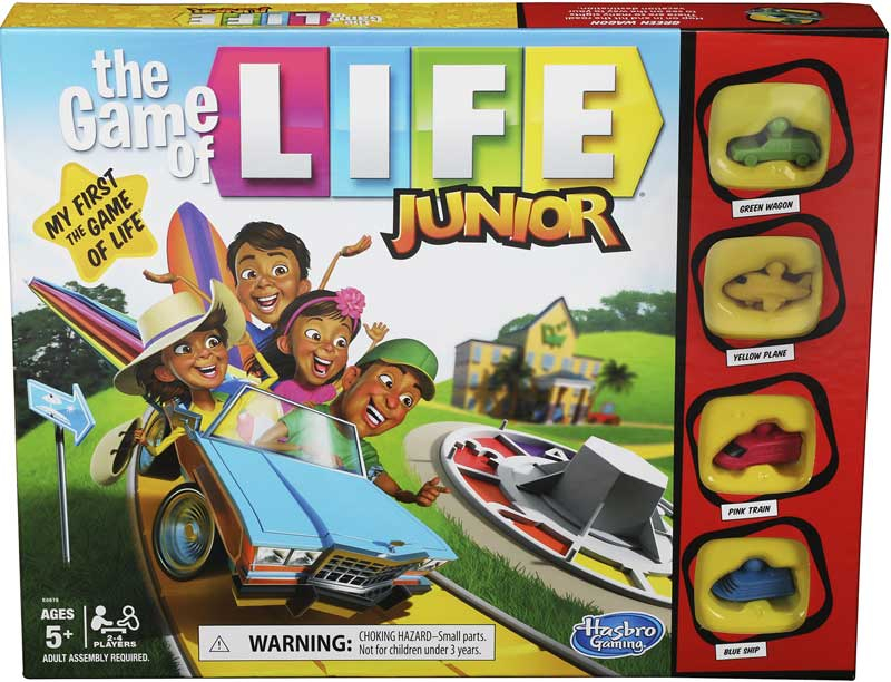 Wholesalers of Game Of Life Junior toys