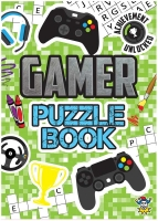 Wholesalers of Gamer Fun Puzzle Book toys image