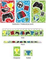Wholesalers of Gamer Stationery Set 5pc toys image