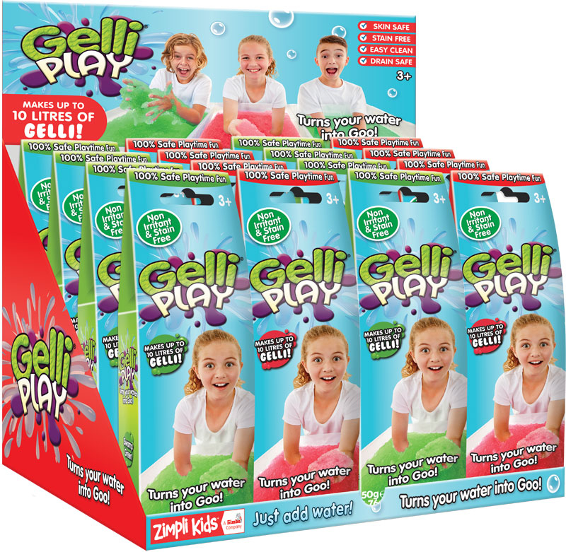 Wholesalers of Gelli Play - Mixed Colours - 50g toys