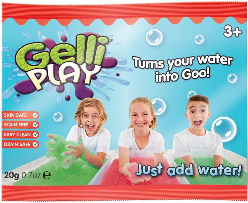 Wholesalers of Gelli Play Foil Bags - 20g toys