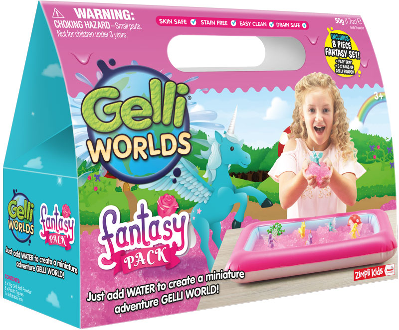 Wholesalers of Gelli Worlds Fantasy Pack toys