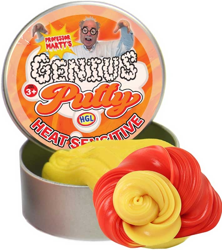 Wholesalers of Genius Putty Heat Sensitive toys
