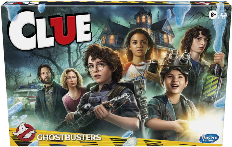 Wholesalers of Ghostbusters Clue toys