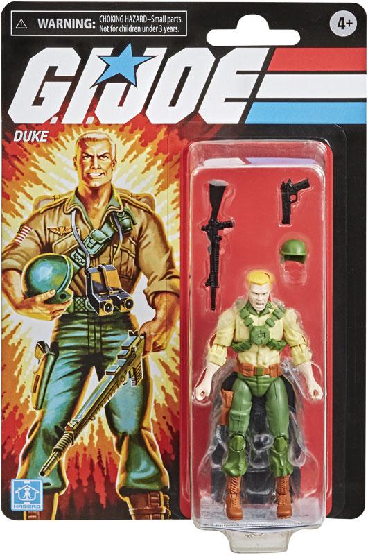 Wholesalers of Gi Joe Retro Figure Duke toys