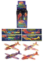 Wholesalers of Gliders - Super Hero 17cm 4 Asst Designs toys image