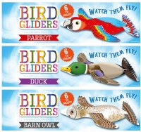 Wholesalers of Gliders Birds 16cm 6 Asst Designs toys image