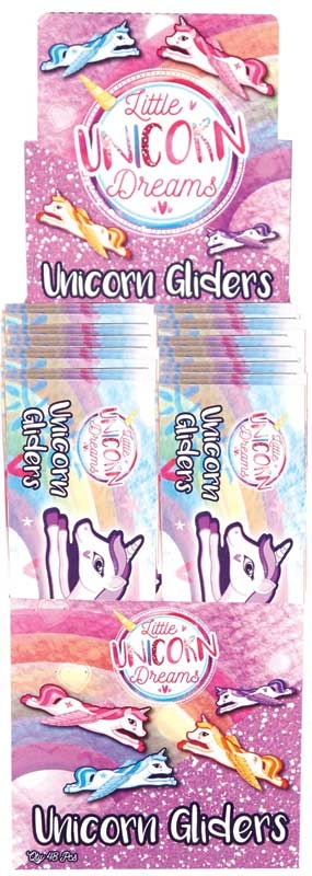 Wholesalers of Gliders Gliders Unicorn 18cm 4 Asst Designs toys