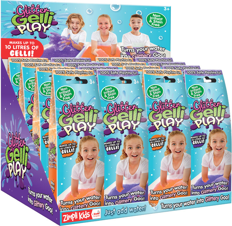 Wholesalers of Glitter Gelli Play - 50g toys