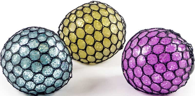 Wholesalers of Glitter Mesh Ball toys