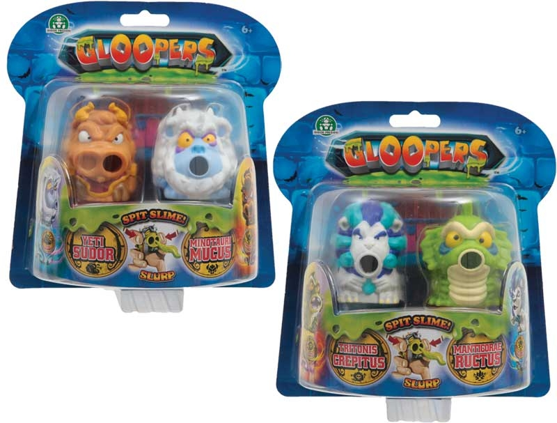 Wholesalers of Gloopers Double Blister Asst toys