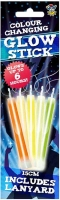 Wholesalers of Glow Stick 15cm With Lanyard Colour Changing Col toys image