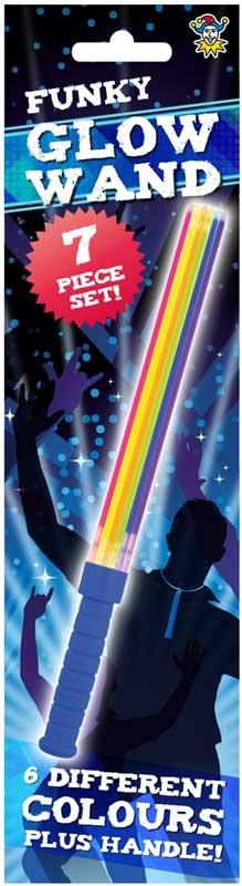 Wholesalers of Glow Stick Wand Asst Colours 7 Pc Set toys