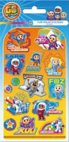 Wholesalers of Go Jetters Foil Stickers toys image