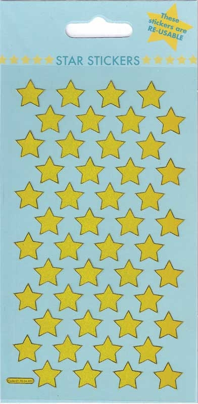 Wholesalers of Gold Stars Theme Stickers toys