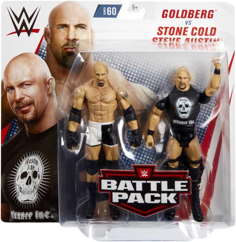 Wholesalers of Goldberg & Stone Cold Steve Austin toys