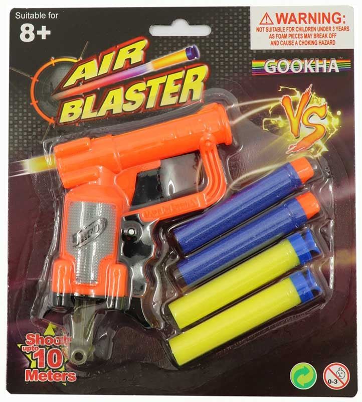 Wholesalers of Gookha Air Blaster toys