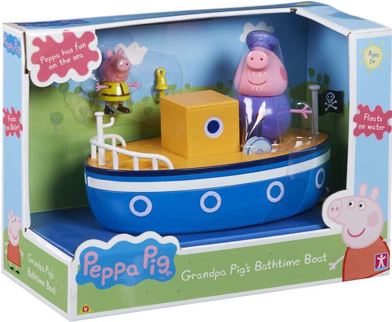 Wholesalers of Grandpa Pigs Bathtime Boat toys