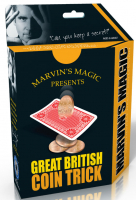 Wholesalers of Great British Coin Trick toys image