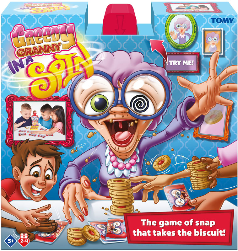 Wholesalers of Greedy Granny In A Spin toys