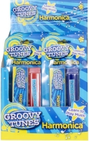 Wholesalers of Groovy Tunes Harmonica And Case toys image