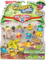 Wholesalers of Grossery Gang 10 Pack And Crossbow Series 4 Bug Strike toys image