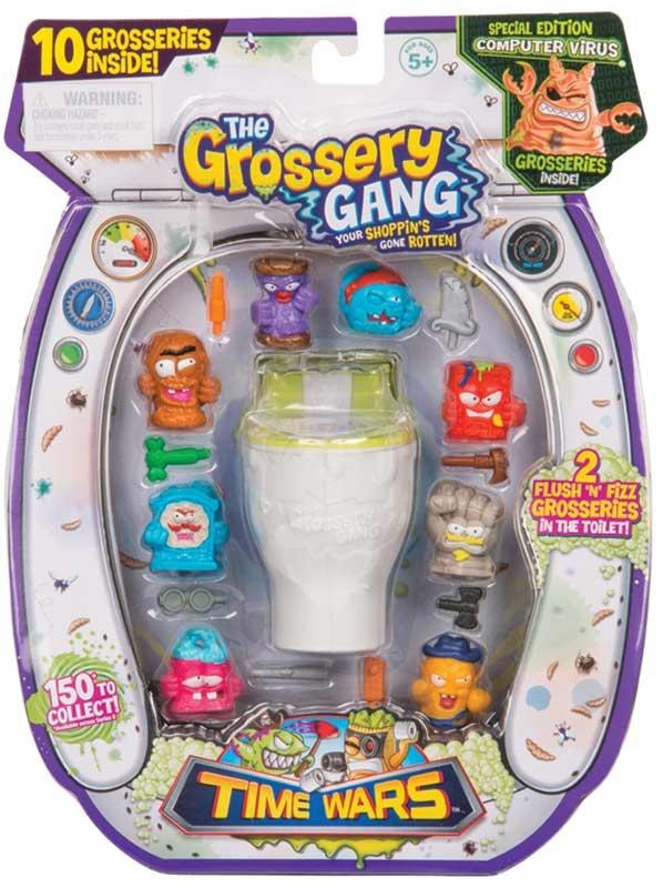 Grossery Gang 10 Pack Flush Amp Fizz Series 5 Time Wars
