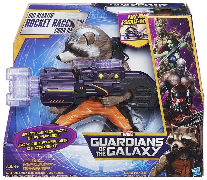Wholesalers of Guardian Of The Galaxy Big Blastin Rocket Raccoon toys