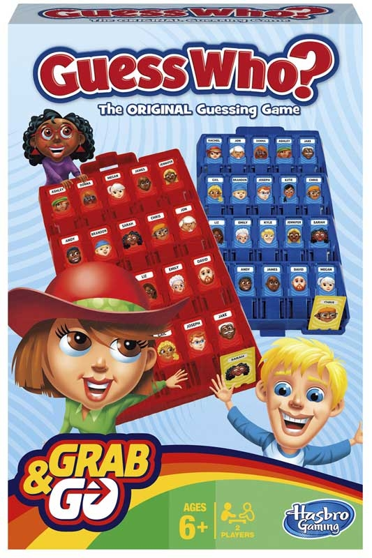 Wholesalers of Guess Who Grab And Go toys