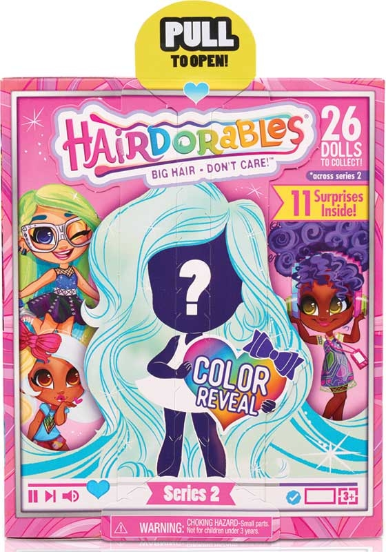 Wholesalers of Hairdorables Dolls Asst - Series 2 toys