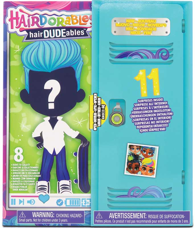 Wholesalers of Hairdorables Hairdudeables - Series 3 toys