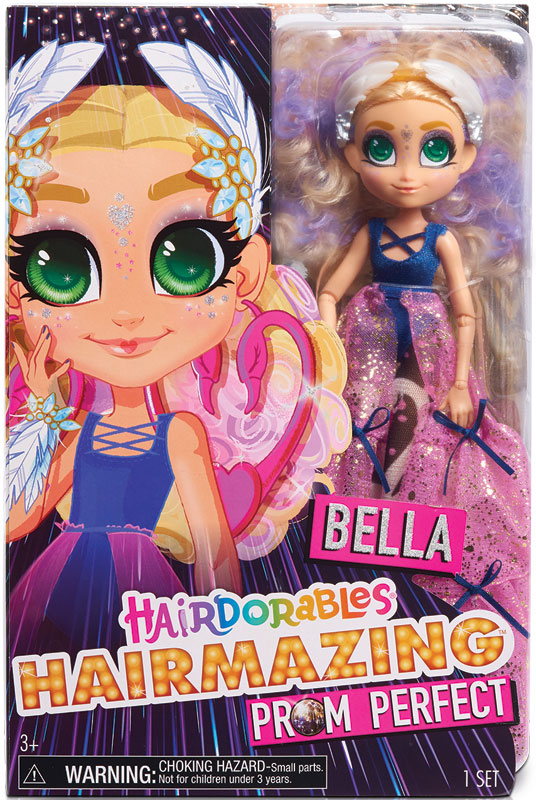 Wholesalers of Hairdorables Hairmazing Fashion Doll Series 2 - Bella toys