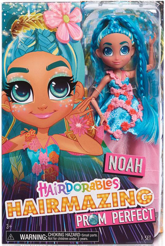 Wholesalers of Hairdorables Hairmazing Fashion Doll Series 2 - Noah toys