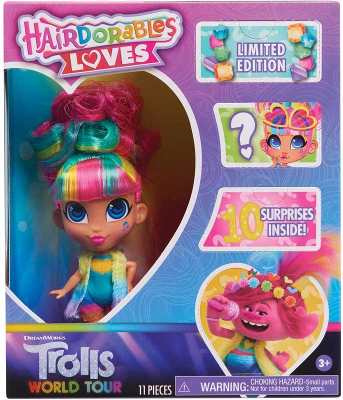 Wholesalers of Hairdorables Loves Trolls toys