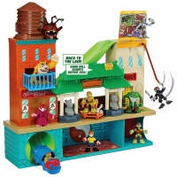 Wholesalers of Half Shell Hero Sewer Hq Mikey And Splinter toys image