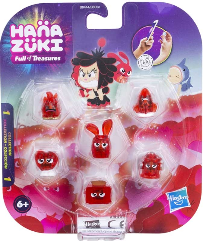 Wholesalers of Hanazuki Treasure 6 Pack Asst toys