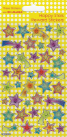 Wholesalers of Happy Stars  Sparkle Stickers toys image