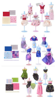 Wholesalers of Harumika Dress Form Set Asst toys image 3