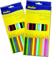 Wholesalers of Helix 12 Colouring Pencils toys image