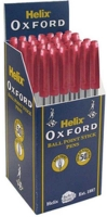 Wholesalers of Helix Oxford Ball Pens - Red toys image