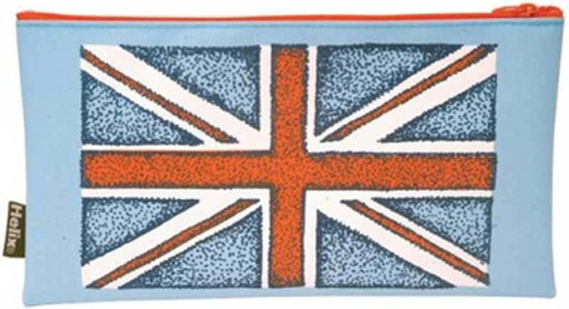 Wholesalers of Helix Rule Britannia Pencil Case toys