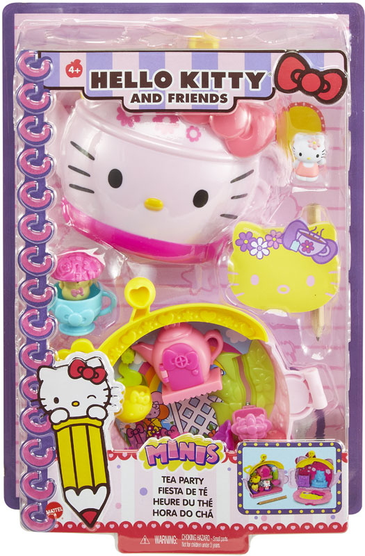 Wholesalers of Hello Kitty Mini Playset Noteables Teapot Compact toys