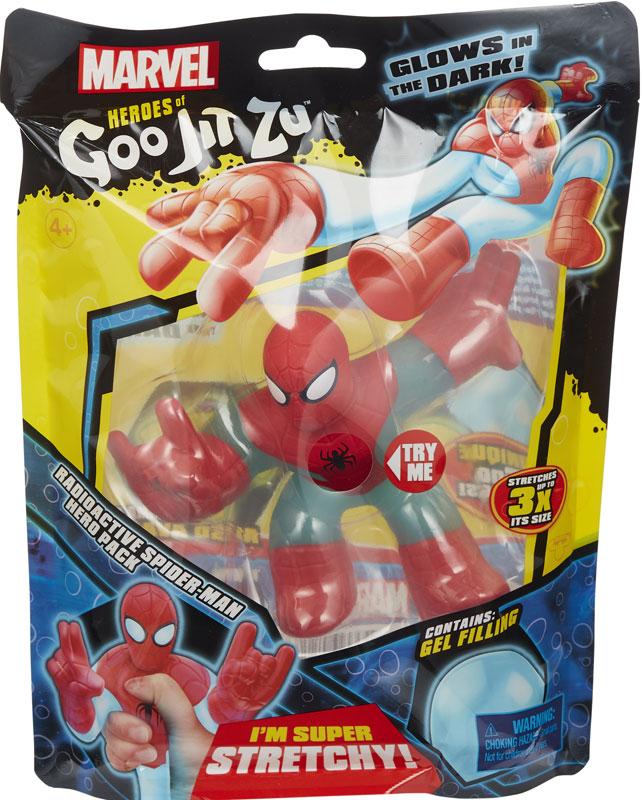 Wholesalers of Heroes Of Goo Jit Zu Marvel Radioactive Spider-man toys