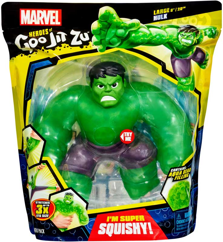 Wholesalers of Heroes Of Goo Jit Zu Marvel Supergoo Hulk toys