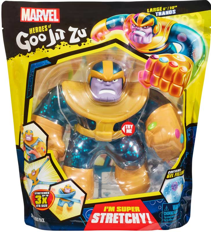 Wholesalers of Heroes Of Goo Jit Zu Marvel Supergoo Thanos toys