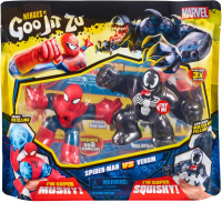 Wholesalers of Heroes Of Goo Jit Zu Marvel Versus Pack - Spiderman Vs Venom toys image