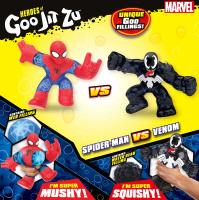 Wholesalers of Heroes Of Goo Jit Zu Marvel Versus Pack - Spiderman Vs Venom toys image 2