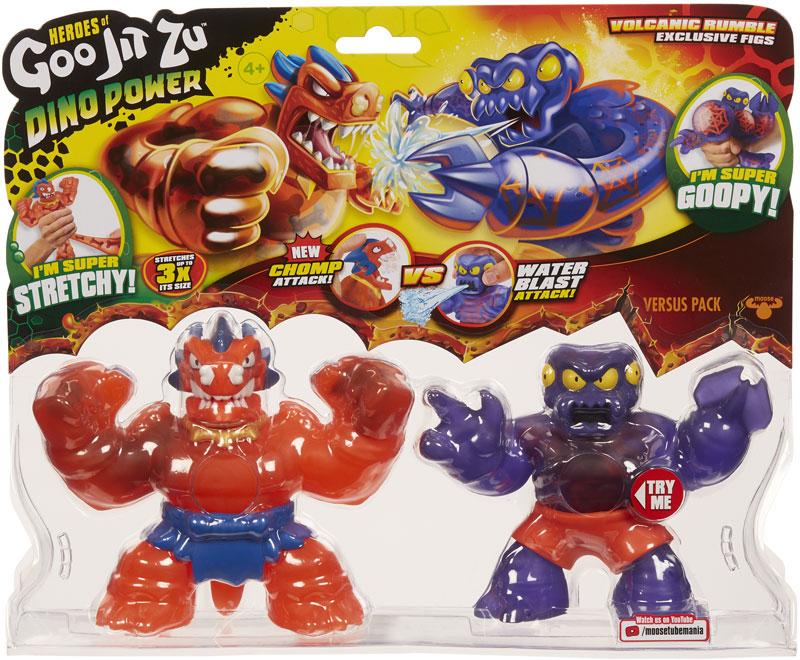 Wholesalers of Heroes Of Goo Jit Zu S3 Dino Versus Pack toys
