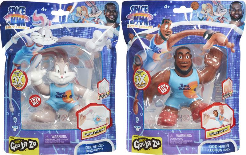 Wholesalers of Heroes Of Goo Jit Zu Space Jam Heroes Pack Asst toys