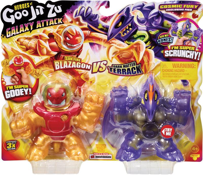Wholesalers of Heroes Of Goo Jit Zu Versus Pack - Galaxy Attack toys